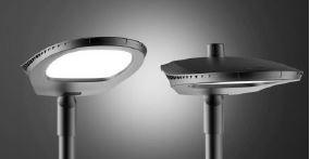 Eclairage public à LED OROLUX de puissance 100W vue de face