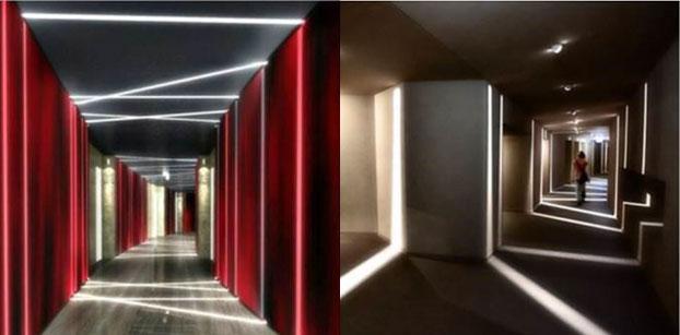 Tracé LED pour éclairage LED design